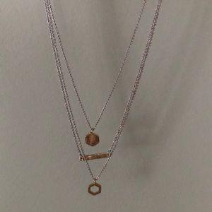Loft triple necklace